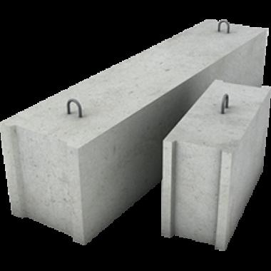 Фундаментный блок сплошной, ФБС 9-6-6