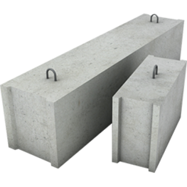 Фундаментный блок сплошной, ФБС 8-4-6