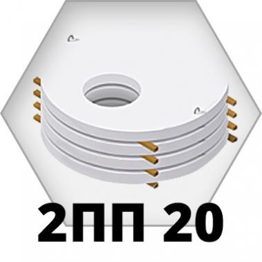 Крышки колодцев 2ПП 20