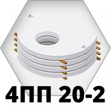 Крышки колодцев 4ПП 20-2