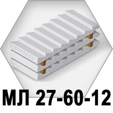 Лестничный марш МЛ 27-60-12