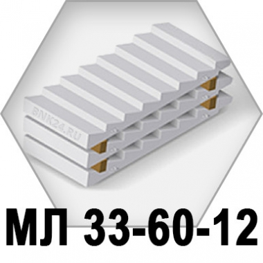 Лестничный марш МЛ-33-60-12