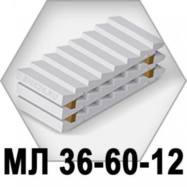 Лестничный марш МЛ-36-60-12