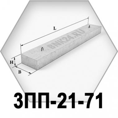 Перемычка плитная 3ПП-21-71