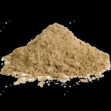 Песок карьерный необработанный