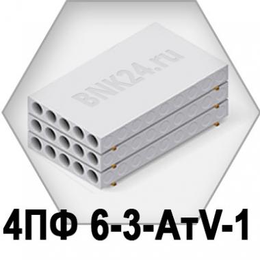 Ребристая плита перекрытия ПРТм 4ПФ 6-3-АтV-1