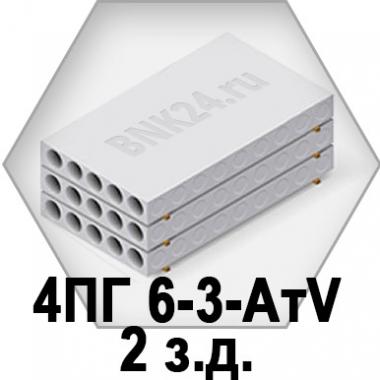 Ребристая плита перекрытия ПРТм 4ПГ 6-3-АтV/2з.д.