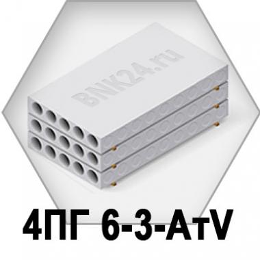 Ребристая плита перекрытия ПРТм 4ПГ 6-3-АтV