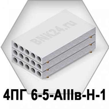 Ребристая плита перекрытия ПРТм 4ПГ 6-5-АIIIв-Н-1