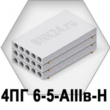 Ребристая плита перекрытия ПРТм 4ПГ 6-5-АIIIв-Н