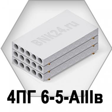 Ребристая плита перекрытия ПРТм 4ПГ 6-5-АIIIв