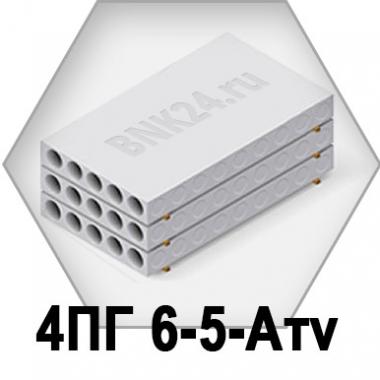 Ребристая плита перекрытия ПРТм 4ПГ 6-5-Атv