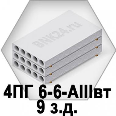 Ребристая плита перекрытия ПРТм 4ПГ 6-6-АIIIвт-9з.д.