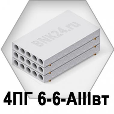 Ребристая плита перекрытия ПРТм 4ПГ 6-6-АIIIвт