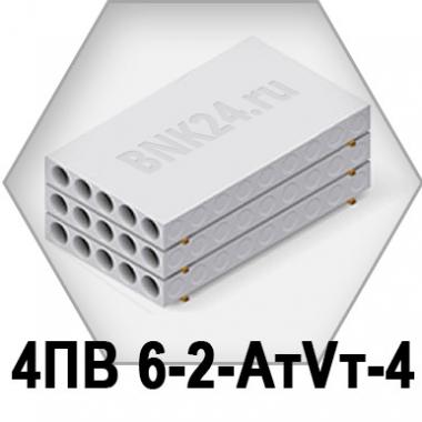 Ребристая плита перекрытия ПРТм 4ПВ 6-2-АтVт-4