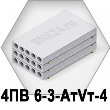 Ребристая плита перекрытия ПРТм 4ПВ 6-3-АтVт-4