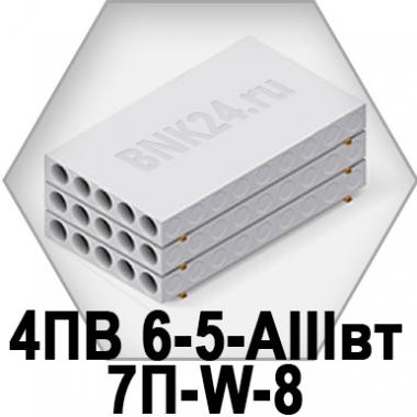 Ребристая плита перекрытия ПРТм 4ПВ 6-5-АIIIвт-7П-W-8