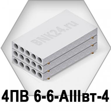Ребристая плита перекрытия ПРТм 4ПВ 6-6-АIIIвт-4
