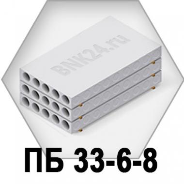 Плита перекрытия ПБ 33-6-8