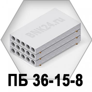 Плита перекрытия ПБ 36-15-8