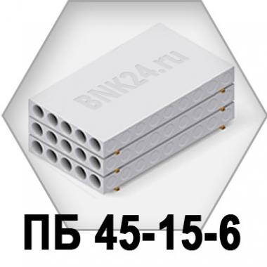 Плита перекрытия ПБ 45-15-6