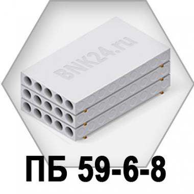Плита перекрытия ПБ 59-6-8