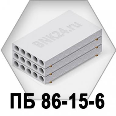 Плита перекрытия ПБ 86-15-6