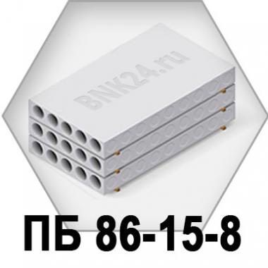 Плита перекрытия ПБ 86-15-8