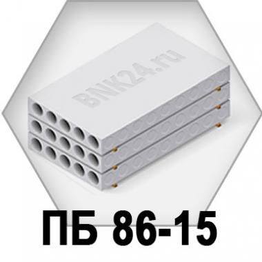 Плита перекрытия ПБ 86-15