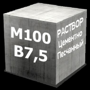 Раствор цементно-песчанный М100 Пк3