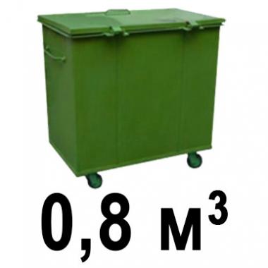Вывоз мусора баком 0.8м3